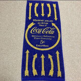コカコーラ(コカ・コーラ)のCoca-Cola フェイスタオル(タオル/バス用品)