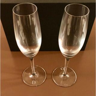 デビアス(DE BEERS)のデビアスDe Beers シャンパングラス 2個セット(グラス/カップ)