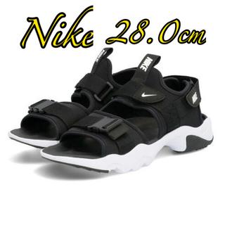 ナイキ(NIKE)の本日限定!NIKE CANYON SANDAL メンズサンダルブラック28cm(サンダル)