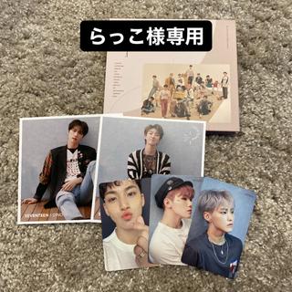 セブンティーン(SEVENTEEN)のSEVENTEEN CD 舞い落ちる花びら(K-POP/アジア)
