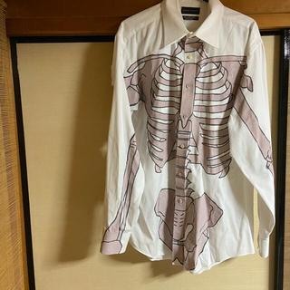 カンサイヤマモト(Kansai Yamamoto)のused ボーンシャツ リメイク kansai yamamoto ボディ(シャツ)