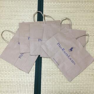 ポロラルフローレン(POLO RALPH LAUREN)のPolo RalphLauren 紙袋 5枚(ショップ袋)