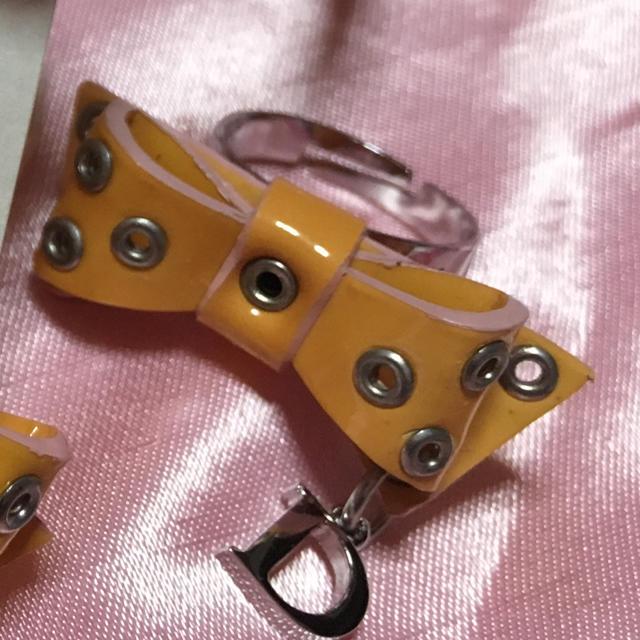 Dior(ディオール)の はな様専用 破格値 Dior 新品 未使用品 リボンリング チョーカー ブレス レディースのアクセサリー(リング(指輪))の商品写真