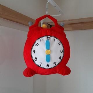 イケア(IKEA)のIKEAイケア【廃盤】HEMMAHOSヘマホースぬいぐるみ時計ソフトトイクッショ(ぬいぐるみ)