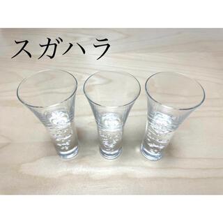 スガハラ(Sghr)のsghrスガハラ グラス 3種の泡 ショットグラス 3個セット(グラス/カップ)