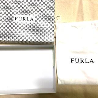 フルラ(Furla)の9月限りの出品!FURLA箱 巾着付(ショップ袋)