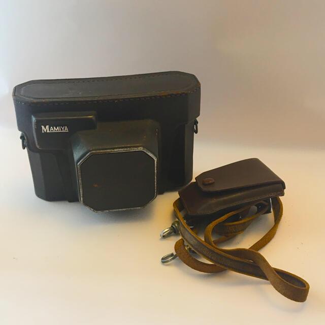 USTMamiya(マミヤ)のMAMIYA ELCA レンジファインダー レアブースター付 現状 スマホ/家電/カメラのカメラ(フィルムカメラ)の商品写真