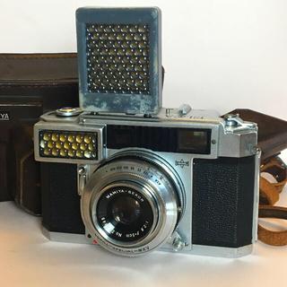 マミヤ(USTMamiya)のMAMIYA ELCA レンジファインダー レアブースター付 現状(フィルムカメラ)
