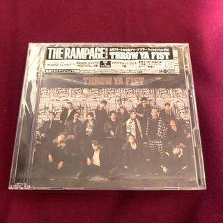 ザランページ(THE RAMPAGE)のTHE RAMPAGE THROW YA FIST DVD(ポップス/ロック(邦楽))