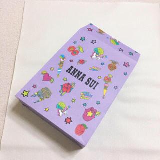 アナスイ(ANNA SUI)のANNA SUI 限定 パッケージ ショッパー  コレクション ノベルティ(ノベルティグッズ)