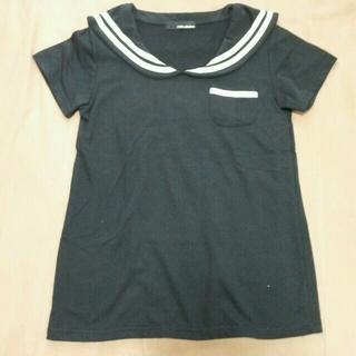 ファンキーフルーツ(FUNKY FRUIT)のセーラー服風Tシャツ('-'*)(Tシャツ(半袖/袖なし))