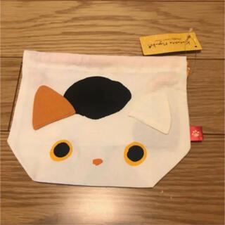 サンエックス(サンエックス)の【新品】サンエックス くつしたニャンコ 巾着 ネコ 猫(その他)