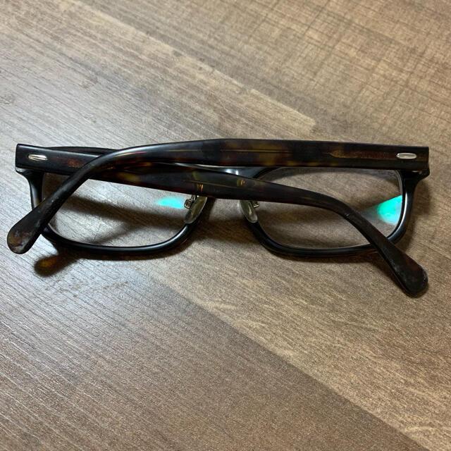 Zoff(ゾフ)のZoff ゾフ メガネ ベッコウ柄 メンズのファッション小物(サングラス/メガネ)の商品写真