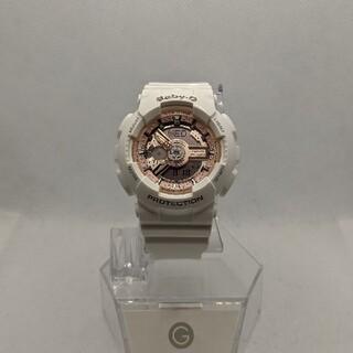 ベビージー(Baby-G)のG-SHOCK baby-G BA-110 ピンクゴールド(腕時計(デジタル))