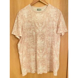 ディオール(Dior)の希少 dior19ss トワルドジュイ ピンクtシャツ(Tシャツ/カットソー(半袖/袖なし))