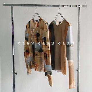 クラン(CLAN)のCLAN LITMUS シアートップス(カットソー(長袖/七分))