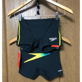 スピード(SPEEDO)の【新品】Mサイズ speedo 競泳水着 ボックス水着 練習用水着(水着)