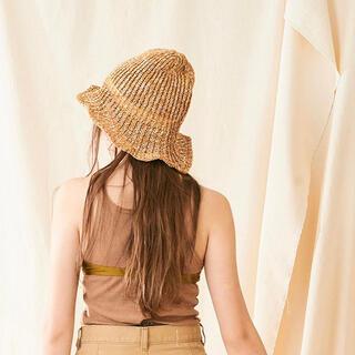 イエナ(IENA)のLa Maison de Lyllis コットンハット帽子 IENA CA4LA(麦わら帽子/ストローハット)
