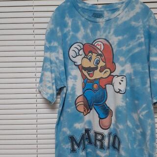 ニンテンドウ(任天堂)のUSA古着 タイダイ スーパーマリオ 任天堂 MARIO Nintendo(Tシャツ/カットソー(半袖/袖なし))