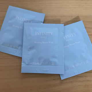 インフィニティ(Infinity)のインフィニティ モーニングリニュー サンプル(洗顔料)
