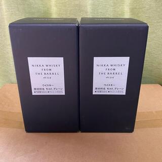 ニッカウイスキー(ニッカウヰスキー)のニッカ フロムザバレル 500ml 2本セット箱付き 新品未開封(ウイスキー)