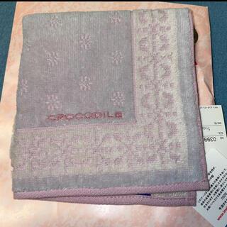 クロコダイル(Crocodile)のクロコダイル タオルハンカチ(ハンカチ/ポケットチーフ)