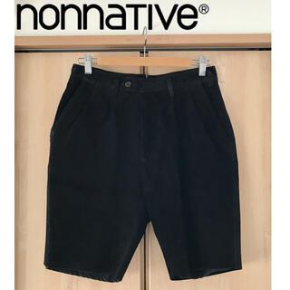 ノンネイティブ(nonnative)の【0】正規品 nonnative レザーショーツ TRAVELER SHORTS(ショートパンツ)