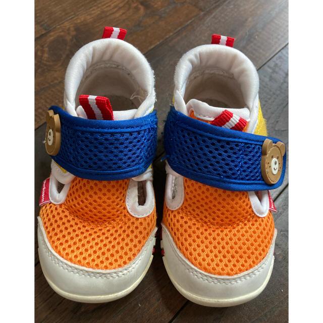 HOT BISCUITS(ホットビスケッツ)のミキハウス サンダル キッズ/ベビー/マタニティのベビー靴/シューズ(~14cm)(サンダル)の商品写真