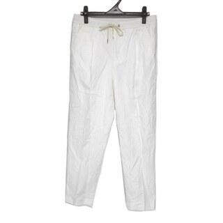 モンクレール(MONCLER)のモンクレール パンツ サイズ46 L メンズ 白(その他)
