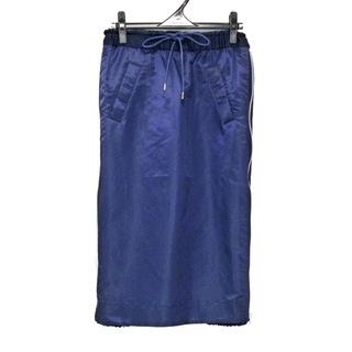 サカイ(sacai)のサカイ ロングスカート サイズ1 S美品  -(ロングスカート)