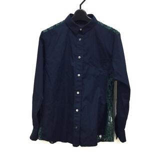サカイラック(sacai luck)のサカイラック 長袖シャツブラウス 2 M -(シャツ/ブラウス(長袖/七分))