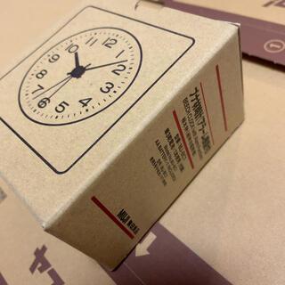 ムジルシリョウヒン(MUJI (無印良品))の無印良品 ブナ材時計 アラーム機能付き MJ-BC1(置時計)
