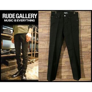 ルードギャラリー(RUDE GALLERY)の新品 ルードギャラリー Lot6000 TYPE1 リジッド デニム W30 黒(デニム/ジーンズ)