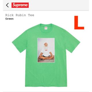 シュプリーム(Supreme)のシュプリーム Supreme RICK RUBIN TEE green  L(Tシャツ/カットソー(半袖/袖なし))