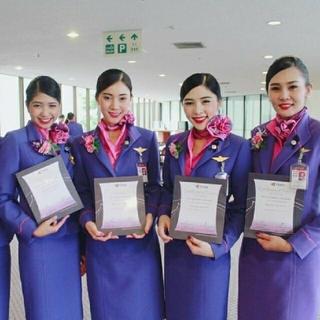 ジャル(ニホンコウクウ)(JAL(日本航空))のラスト 限定  タイ航空 キャビンアテンダント CA 制服 5点セット(衣装一式)