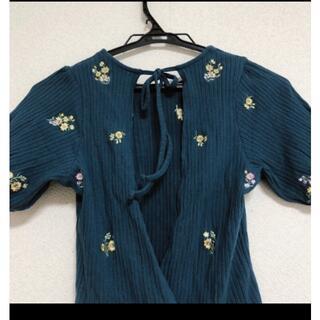 ナイスクラップ(NICE CLAUP)のバックオープン トップス(Tシャツ(半袖/袖なし))