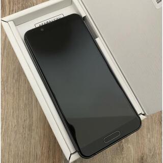 アクオス(AQUOS)のAQUOSsense3lite ブラック(スマートフォン本体)