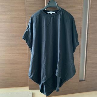 エンフォルド(ENFOLD)の【ENFOLD】エンフォルド  20SS 半袖 カットソー Tシャツ 黒(Tシャツ(半袖/袖なし))