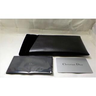 ディオール(Dior)のDior ディオール スリムメガネケース ブラック バネ口金具(サングラス/メガネ)