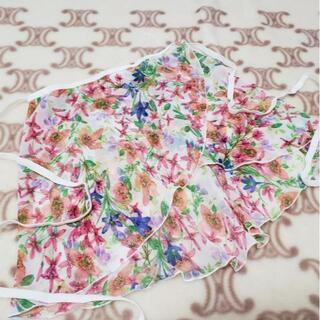 チャコット(CHACOTT)の*B.S.B.L*【Sweet Meadows】ホワイト ラップスカート(ダンス/バレエ)