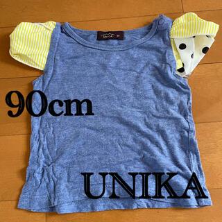 ユニカ(UNICA)のunika 90cm 女の子 半袖Tシャツ(Tシャツ/カットソー)