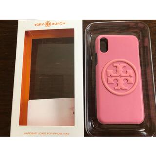 トリーバーチ(Tory Burch)のトリーバーチ iPhonex xsケース ピンク レザー(iPhoneケース)