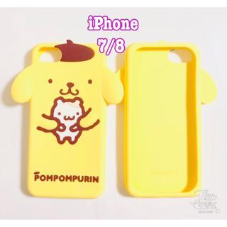ポムポムプリン - 新品 ♡ ポムポムプリン iPhone7 iPhone8 ケース ♡耳デザイン