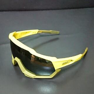 Oakley - 100%サングラス SPEEDTRAP SOFT TACT ブラックミラーレンズ