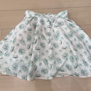 マジスティックレゴン 花柄スカート ひざ丈スカート キュロット