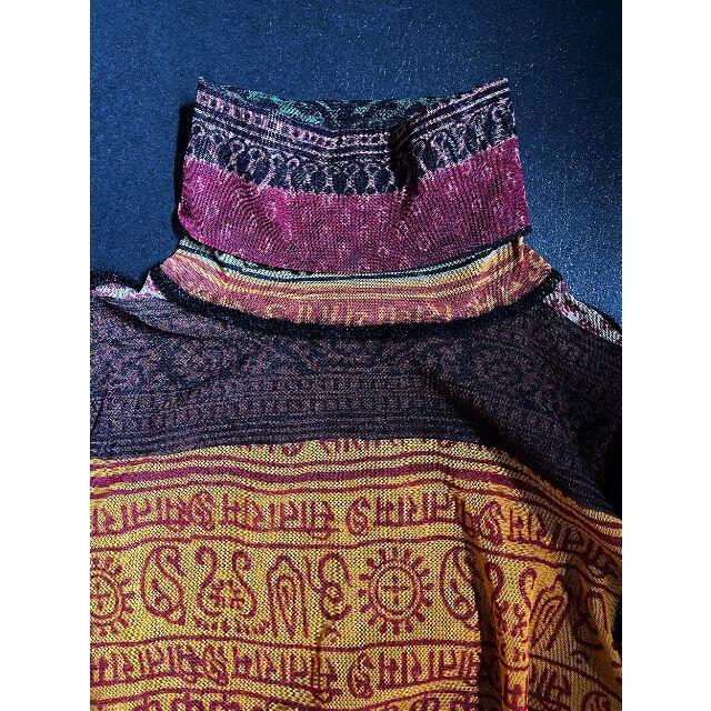 Jean-Paul GAULTIER(ジャンポールゴルチエ)のエスニックなタトゥーTシャツ Jean Paul GAULTIER レディースのトップス(Tシャツ(長袖/七分))の商品写真