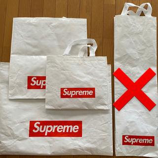 シュプリーム(Supreme)の店舗限定 supreme ショッパー バッグ bag  大中小 3枚(ショップ袋)