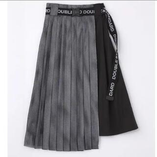 ダブルスタンダードクロージング(DOUBLE STANDARD CLOTHING)のダブルスタンダードクロージング メッシュ スカート 美品(ロングスカート)