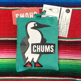 CHUMS - 新品 CHUMS 2way  Eco Bag 限定 エコバッグ teal