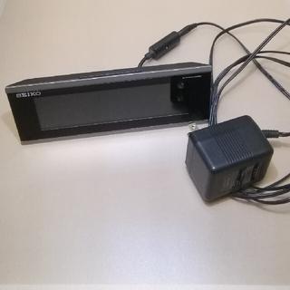 SEIKO - SEIKO  電波デジタル目覚まし時計 DL206S 液晶暗いのでジャンク扱い
